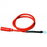 Câble d'allumage de 30 po avec manchon droit sur l'extrémité allumeur
