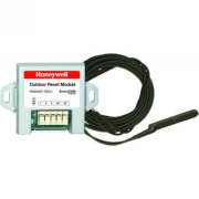 Wired AquaReset kit saves energy based on outdoor temp. Includes reset module and wired sensor.